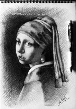 The Girl with the Pearl Earring by MaryCloe