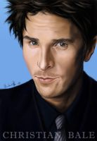 Christian Bale by Norloth