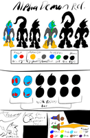 HLOCT-Alpha Demon Reference by Thesimpleartist4