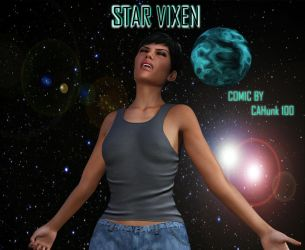 Star Vixen (Comic Cover) by CAHunk100