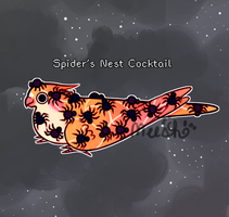 Oct 30 - Spider's Nest Cocktail (CLOSED) by xAerisx