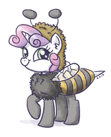 Sweetie Bee by King-Kakapo