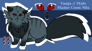 .:REFERENCE:. Vanja by JewelyCat