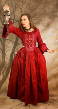 red dress light by magikstock