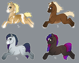 Pony Point Adopts by Mustang-ADOPTS