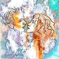 River Song and the Twelfth Doctor by evisionarts
