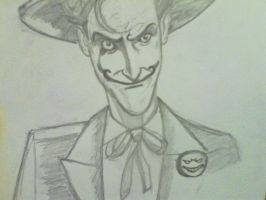 joker drawing better quality pic by ThomasDrawsStuff