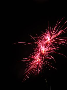 Red fireworks by pluto-my-way