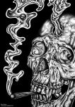 skull of doom (stoned 2) by gorillarium