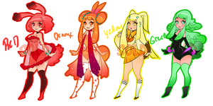 Roy-G-BivP Cutie Bunny Adoptables_Set.01-(CLOSED) by Mymy-TaDa