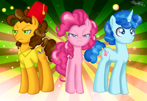 MLP - The Party Trio by iTiffanyBlue