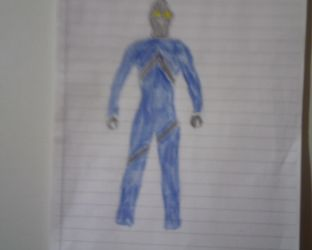 Ultraman Axel (Blue form) by redgriffin22