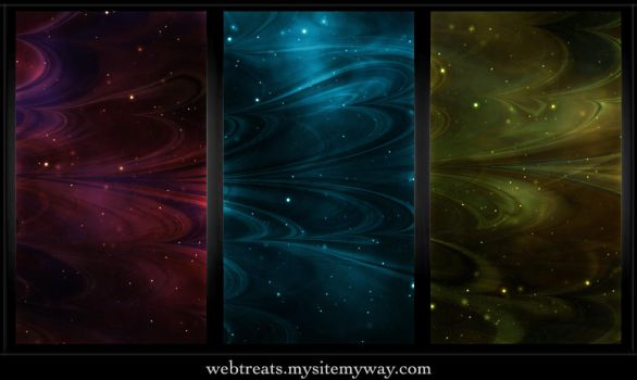 Tileable Abstract Nebula by WebTreatsETC
