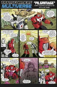 Transformers Multiverse: Pilgrimage by hde2009