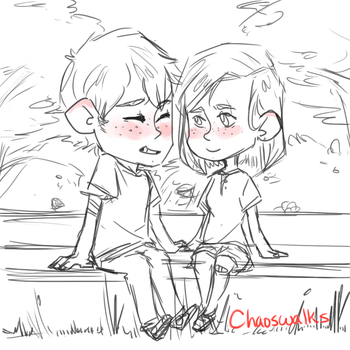In The Park by chaoswalks