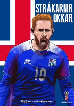 Iceland - Gylfi Sigurdsson by dicky10official