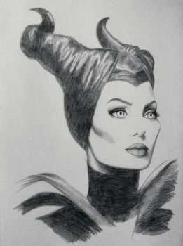 Maleficent by Christi-Koutsi
