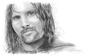 Aragorn by Mirally