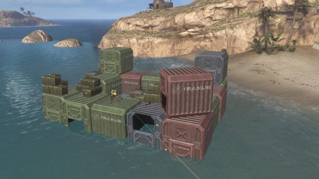 Halo 3 Map: Sea Castle G3 by Gigith