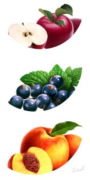Fruits - 05 by denfo