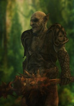 Orc by ShaneGallagher