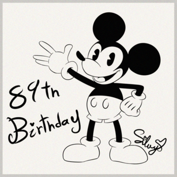 Mickey Mouse - 89th Anniversary by SweetSilvy