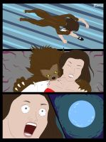 Paje Werewolf Comic 02 by FullMoonMaster