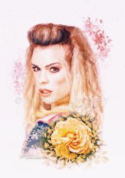 Rose by sophiecowdrey