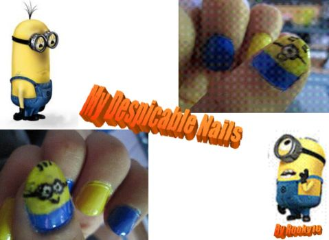 Despicable nail by Rooky16