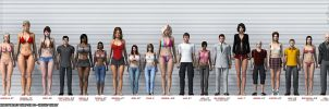 Tales From Domina's Valley Chapter 10 Height Chart by bmtbguy