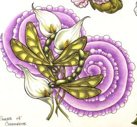 dragonflies by sarahink