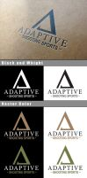 Adaptive Shooting Sports Logo Mockup by Vikingjack