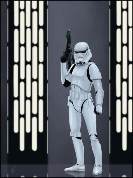 Imperial Stormtrooper by AndyFairhurst