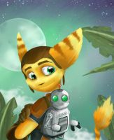 Ratchet and Clank by Kisuette