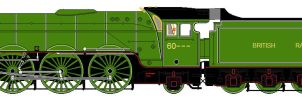 Competition entry - LNER A9 pacific by 2509-Silverlink