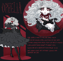 [ref sheet] Ophelia by OpheliaNevermore