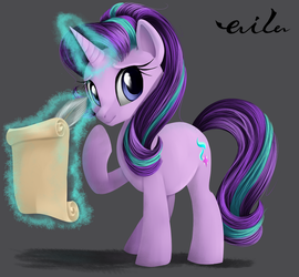 Your faithful student, Starlight Glimmer by AilaTF