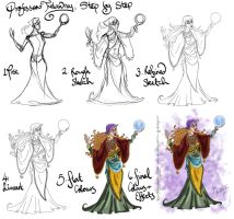 Trelawney Step by Step by hollano