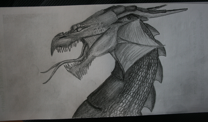 Skype Doodle Dragon. by shadee
