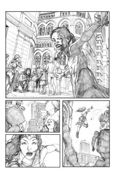 Wonder Woman sample page 1 by Shrptooth