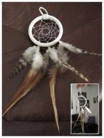 White One -dreamcatcher by SaQe