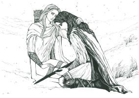 I will never leave you,son of Hurin (graphic) by Ephaistien