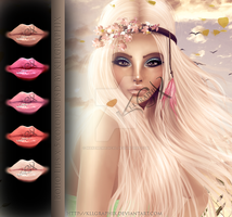Boho Instant Lips Stock PSD by MakeMeMagical