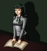 Slytherin student by Aurialudzic