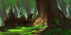 In the Grove by noahbradley