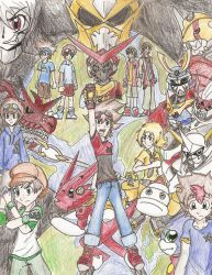 Digimon Legacy Poster by Hyrox816