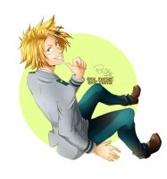 Kaminari Denki - Boku no Hero Academia | Fan art by rose-92