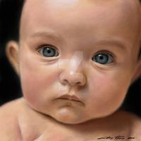 blue eyes by Florin-Chis