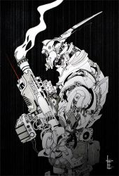 Mech Soldier_01 by Lewis-T-Evans