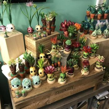 Plant Pals - Curio Collection by mammalfeathers